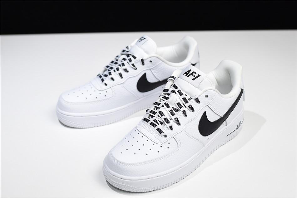 Womens Nike Air Force 1 Low White/Black