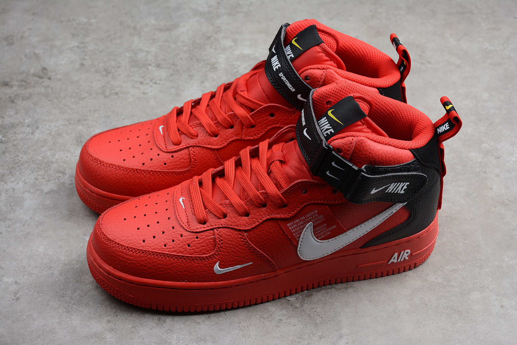 air force 1 mid rojas