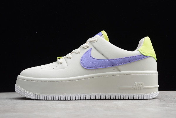 nike air force 1 sage trainers
