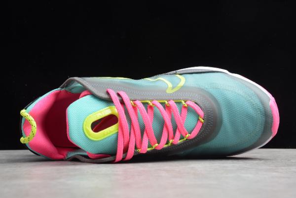 CT7698 007 Nike Air Max 2090 Dark GreyMagenta Pink Green Lemon 2020 For Sale