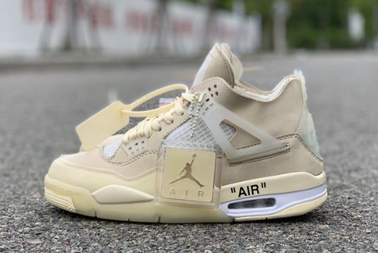2020 Off-White x Air Jordan 4 \